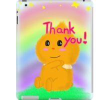 Wanshao saying Thank you! iPad Case/Skin