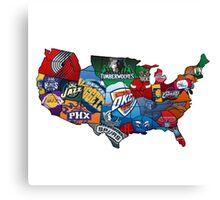 NBA Canvas Print