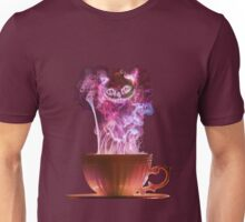 Cheshire Cat Fog Unisex T-Shirt