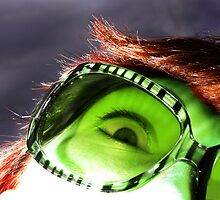Green Sunnies by SLRphotography