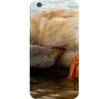 Tucked In iPhone Case/Skin