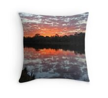 End of day... Currimundi Throw Pillow