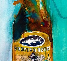 Dogfish Head Brewery Beer - Raison D'Extra by Dorrie  Rifkin