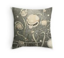 The Naval Piranha Plant Throw Pillow