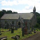 Llanycil Church, Wales by Allen Lucas