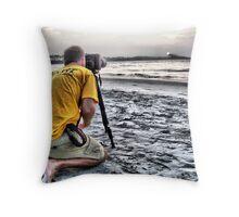 Morning Shoot Throw Pillow