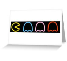 Pac-Man Greeting Card