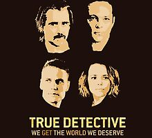 True Detective - Season 2 - Farrell, Vaughn, McAdams, Kitch by Sithuralom