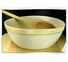 Wooden Spoon Poster