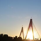 anzac bridge by TaylorV