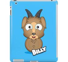 Farm Animal Fun Games - Billy - Blue iPad Case/Skin