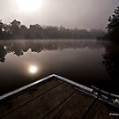 Morning Tranquilty - Clarence Town, NSW by Malcolm Katon