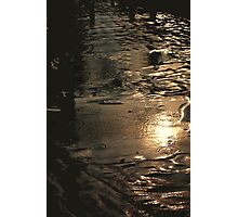 MINUTES OF RAINDROPS Photographic Print