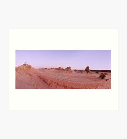 Mungo National Park Art Print