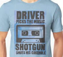 Driver Picks the Music Unisex T-Shirt