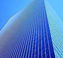 Blue Skyscraper by John Violet