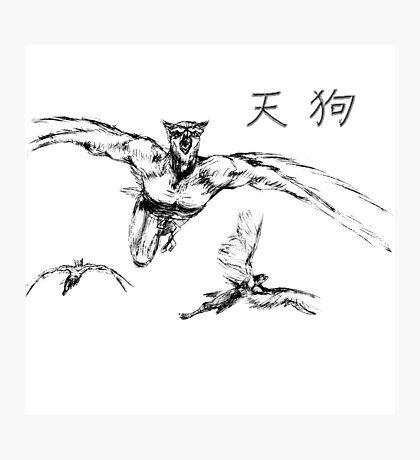 Tengu Photographic Print
