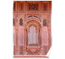 Jodhpur Palace Window Poster