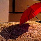 Red Umbrella by mrfriendly