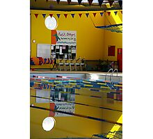 Pool Your Resources Photographic Print