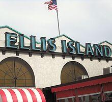 Ellis Island by G G
