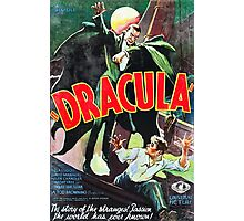 Dracula Vintage Photographic Print