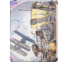 WALL-E & CL4P-TP iPad Case/Skin