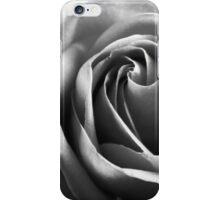 Rose in grey iPhone Case/Skin