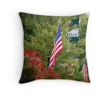 Hometown Americana Throw Pillow