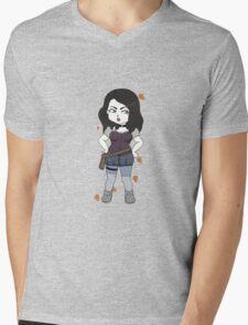 She's pretty awesome  Mens V-Neck T-Shirt