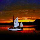 White Sail by LudaNayvelt