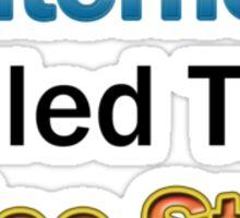 Internet killed Sticker