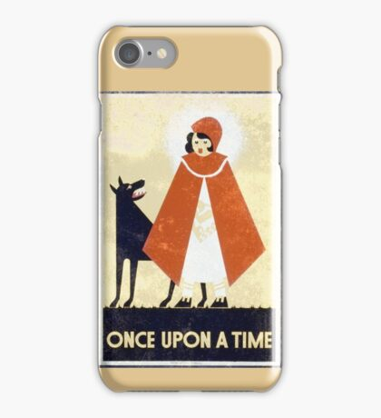 One Upon A Time Vintage iPhone Case/Skin