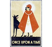 One Upon A Time Vintage Photographic Print