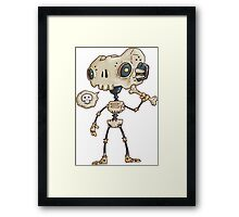 Robo Bone Framed Print