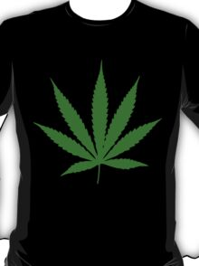 Funny leaf. T-Shirt
