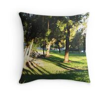 Afternoon Shadows Throw Pillow