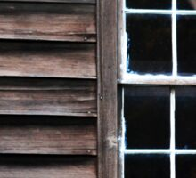 Wood, Window & Drape Sticker