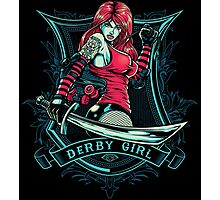 Derby Girl Photographic Print
