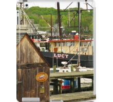 Harbor Loop Jumble ~ Gloucester, Massachusetts iPad Case/Skin