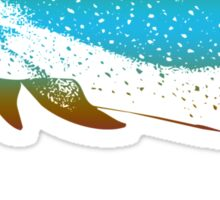 Colorful Dolphin Sticker