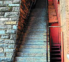 Stairs  by George Salazar
