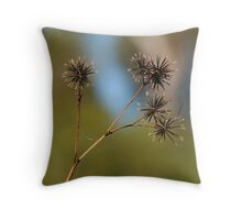 Sticky Beaks Throw Pillow