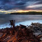 Shipwreck, La Perouse by Den Williams