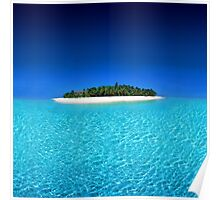 Exotic Private Island  Poster