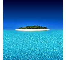 Exotic Private Island  Photographic Print