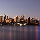 Sydney City Panorama - Twilight by Den Williams