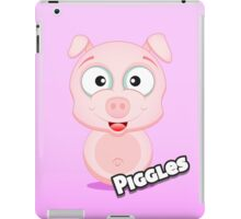 Farm Animal Fun Games - Piggles - Pink Gradient iPad Case/Skin