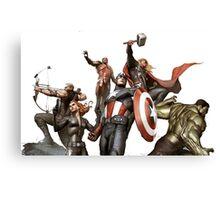 Avengers: Assemble! Canvas Print