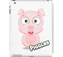 Farm Animal Fun Games - Piggles - White iPad Case/Skin